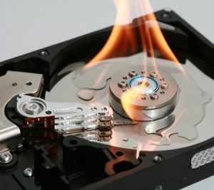 HDD20on20fire20iStock_000003350283Small-300x267